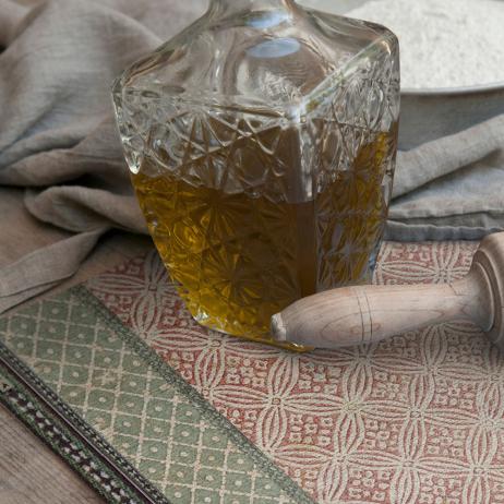 Set de Table Beija Flor PJ1 effet Tissage modèle Jaipur