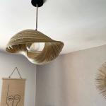 Abat jour Coquillage Ajouré en Bambou de Bali - Modèle exclusif