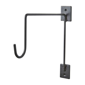 Crochet en métal taille L patère pour suspendre pot ou luminaire
