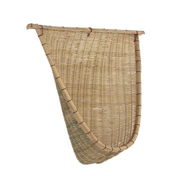 Décoration murale ou à poser style Bohème en bambou naturel