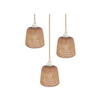 Lot de 3 suspensions bambou naturel - Opjet Paris
