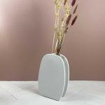 Vase en grès cérame forme arrondie pour vos fleurs