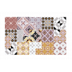 Tapis carreaux de ciment Eclectic E3 Beija Flor
