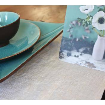 Set de table en lin blanc