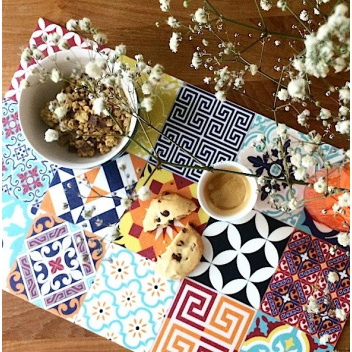 Set de table Beija Flor E10 Patchwork