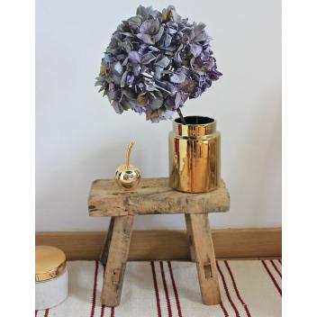 Objet décoration cerise or