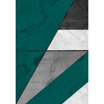Tirage photo green marble