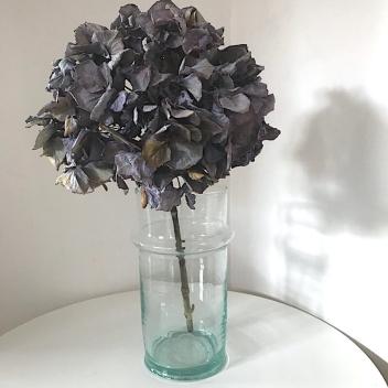 Vase Beldi en verre transparent