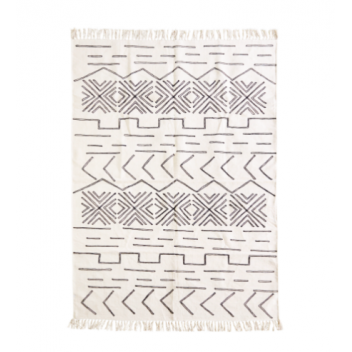 Tapis blockprint coton 120 x 180 cm Madam Stoltz