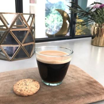 Lot de 4 tasses Espresso en verre Beldi du Maroc