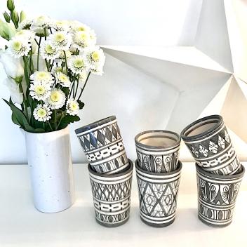 Tasse à café Beldi grises
