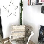 Coussin marocain 45 x 45 cm en coton