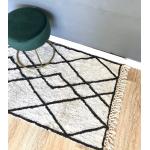 Long tapis motif berbère losange