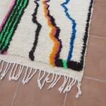 Tapis berbère Azilal coloré