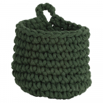 Panier - Pot suspendu coton tressé