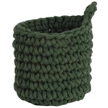 Panier cache-Pot suspendu en coton tressé à suspendre