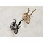 Décoration murale en métal Tête animal Taureau