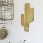Cactus doré à suspendre ou associer