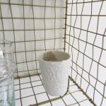 Tasse en porcelaine T. M Myriam Aït Amar