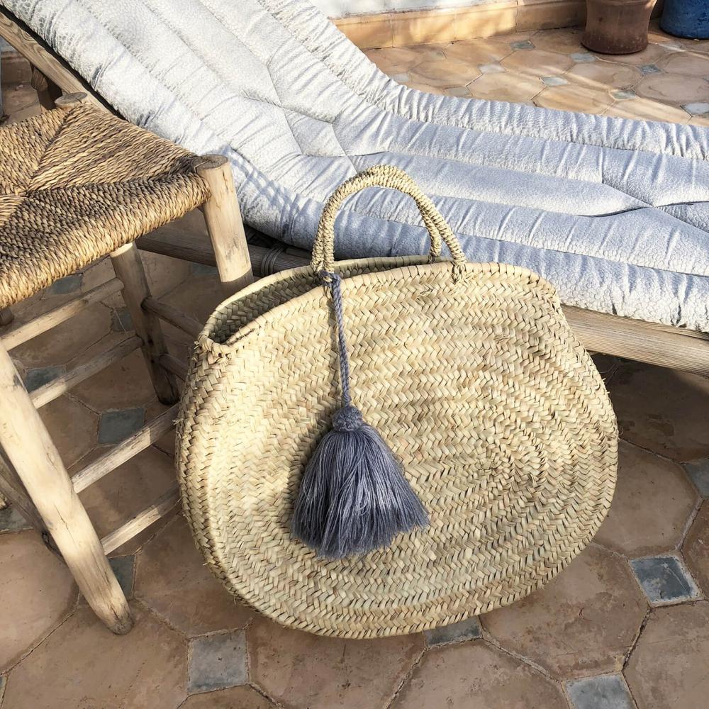 Deco Pompons En Laine grand pompon en laine