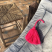 Pompon en coton