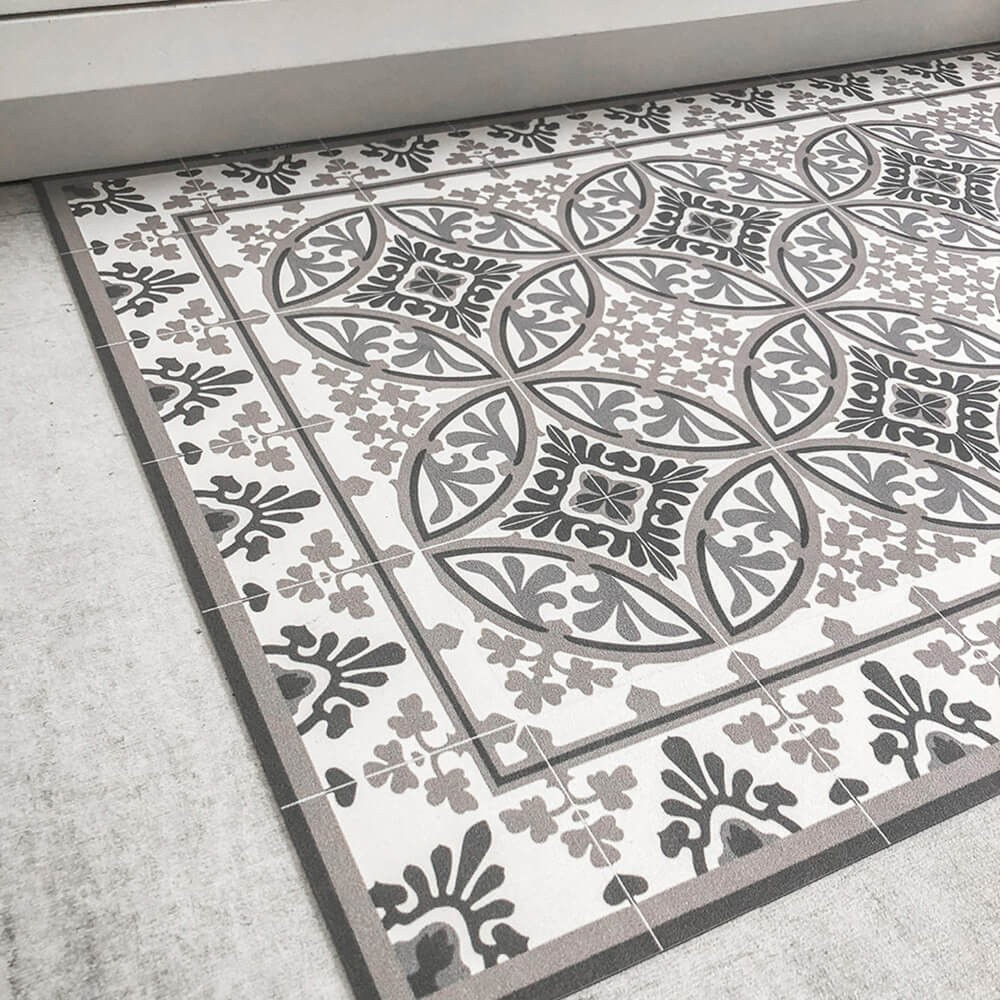 100 Fantastique Concepts Tapis En Carreaux De Ciment