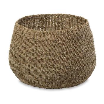 Grand panier ou cache pot pour plantes fait main
