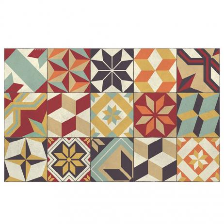 Tapis Beija Flor Eg10 Eclectic Gothic Coloré