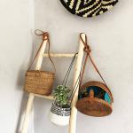 Bali bag en rotin