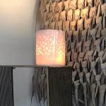 Lampe Puit de Lumière Blanc Myriam Aït Amar