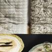 Ensemble de 4 Couverts en inox Coloris Noir mat