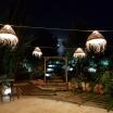 Suspension dôme XL en fibre palmier doum