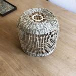 Luminaire naturel Solène en fibres végétales tressées - 2 tailles