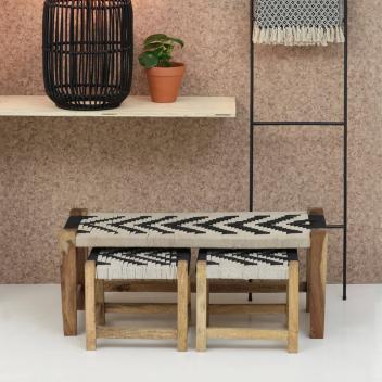 check-out 8864e cce6d Tabourets marocains en bois, tendance moderne ou scandinave ...