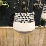 Pot suspendu Nkuku pour plantes avec corde