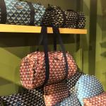 sac allongé motif Abeille en tissu Made in France