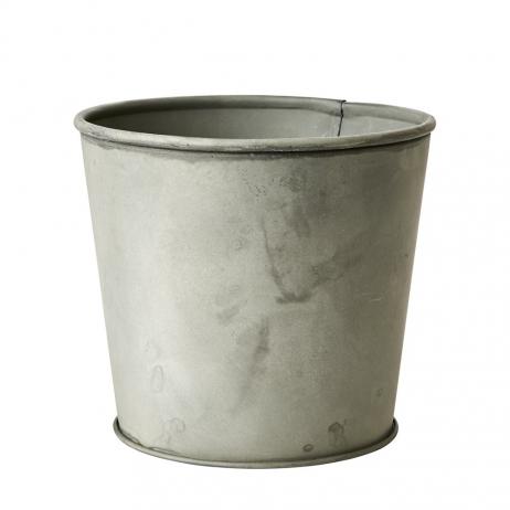 Cache-Pot fleur ou plantes rustique en métal