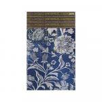 Tapis Beija Flor Bg12 bleu Floral Bohemian Garden