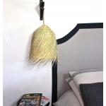 Petite suspension bohème en feuilles de palmier