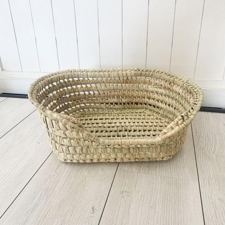 Panier pour animal en fibre de palmier 45cm