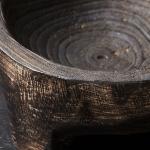 Vide poche ou petit plateau en bois patiné