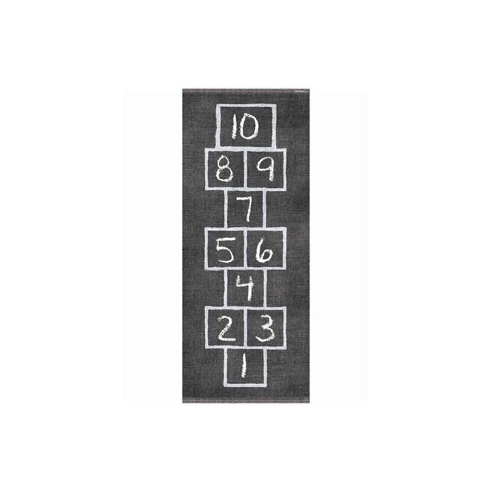 Tapis de marelle pour Enfants Ultra Doux Tapis rectangulaire d/écoration de la Maison Jeu de Ramper Tapis de p/épini/ère pour b/éb/é antid/érapant