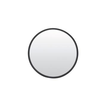 Grand Miroir XL rond en métal noir Mat Diamètre 50cm