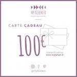 Carte Cadeau Déco MyBohem 100 eur