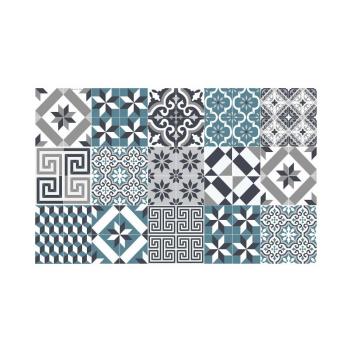 Tapis Beija Flor Eclectic E11 motif Carreaux ciment