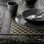 Set de Table Beija Flor PJ2 effet Tissage modèle Jaipur