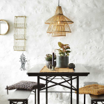 Coussin de chaise noir en Coton - Mme Stoltz