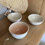 Coupelle Albertine emaillée rose en porcelaine Myriam Aït Amar
