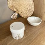 Coupelle gouttes d'or porcelaine Myriam Aït Amar