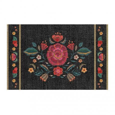 Set de table Beija Flor motif inspiration Frida Kahlo FRD1